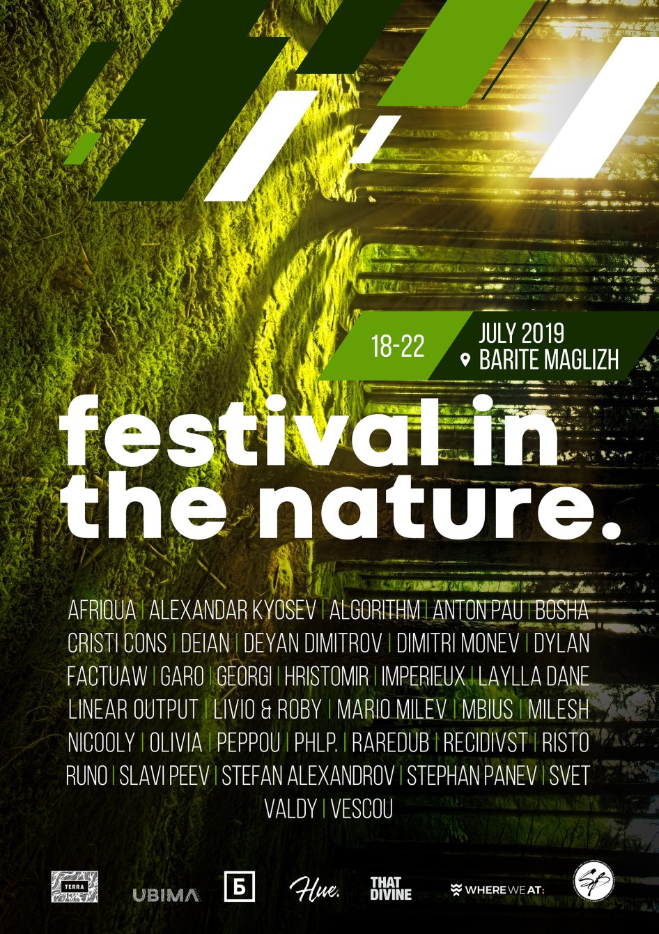 Festival in the Nature 2019 - Flyer back