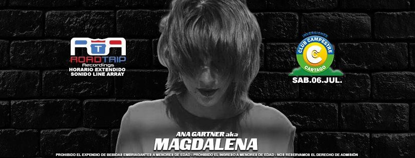 Road Trip Pres. Magdalena [Club Campestre Cartago] - Flyer back