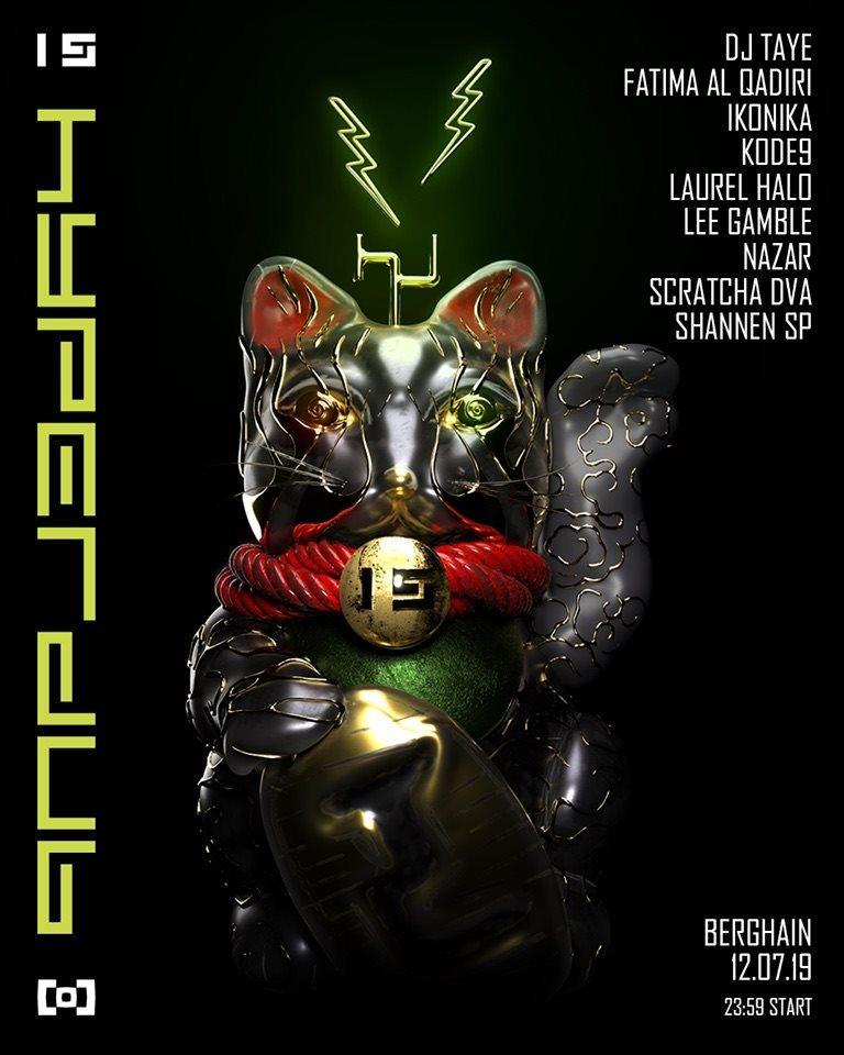 Fünfzehn Jahre Hyperdub X Finest Friday - Flyer back