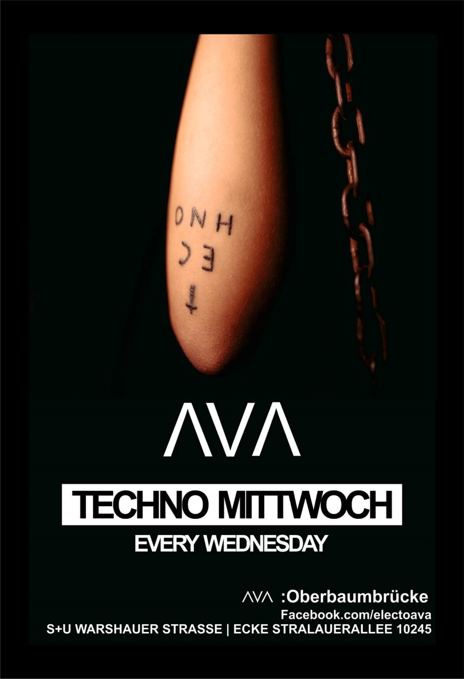 Techno Mittwoch (Two Floors) - Flyer front