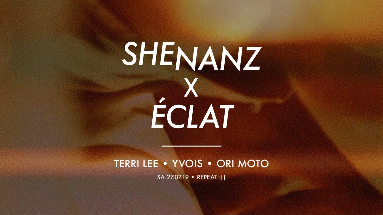 Shenanz X Éclat - Flyer front