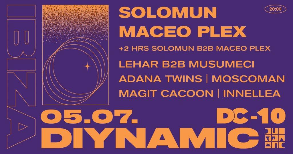 Diynamic Ibiza - Flyer back