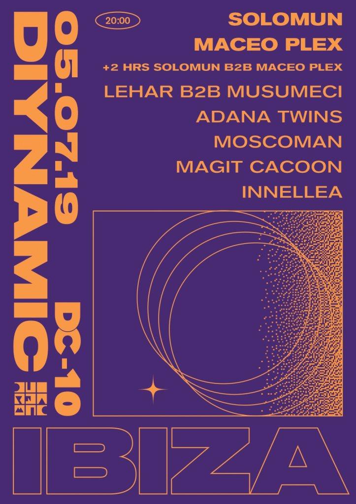 Diynamic Ibiza - Flyer front