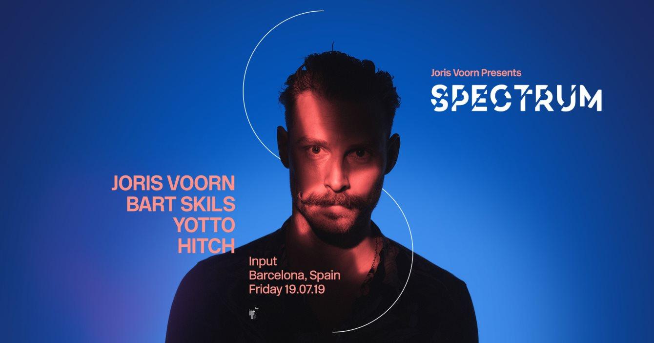 Joris Voorn presents Spectrum at Input Barcelona - Flyer front