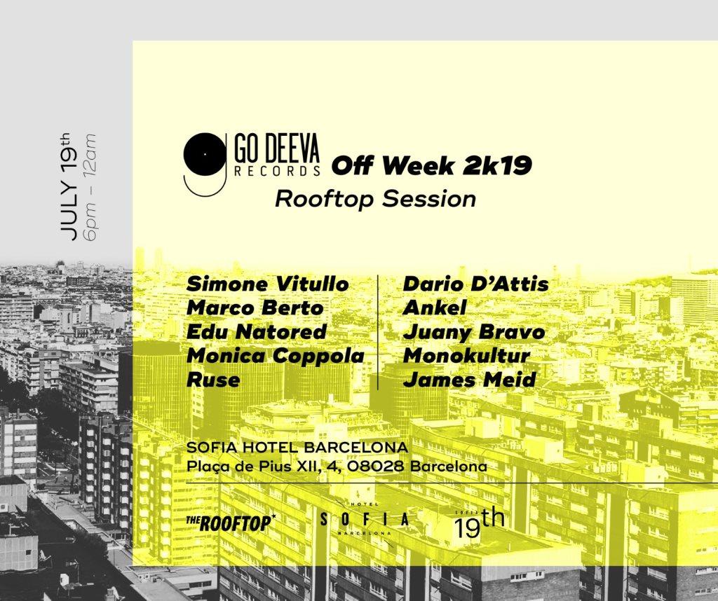 Go Deeva x The Rooftop - Flyer back