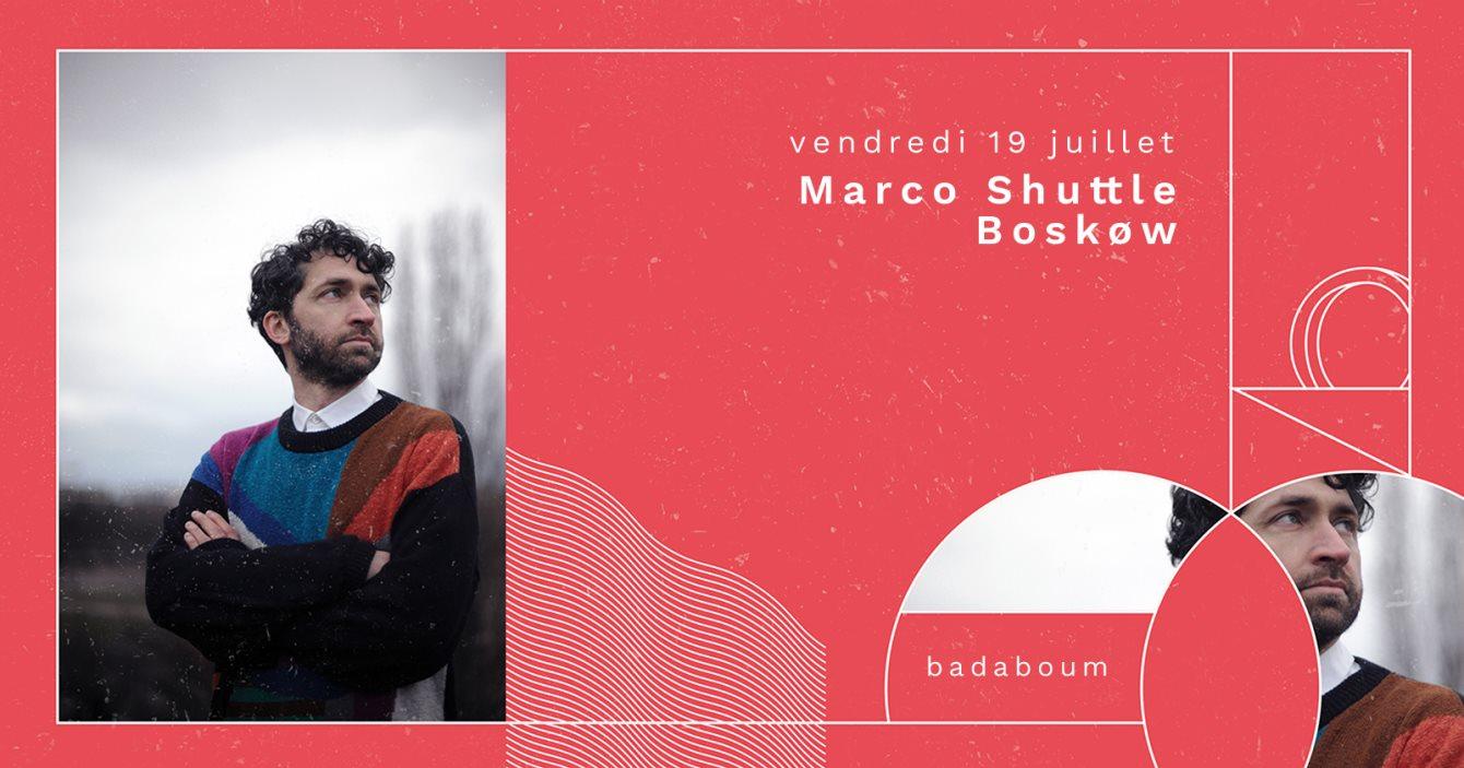 Marco Shuttle, Boskøw - Flyer back
