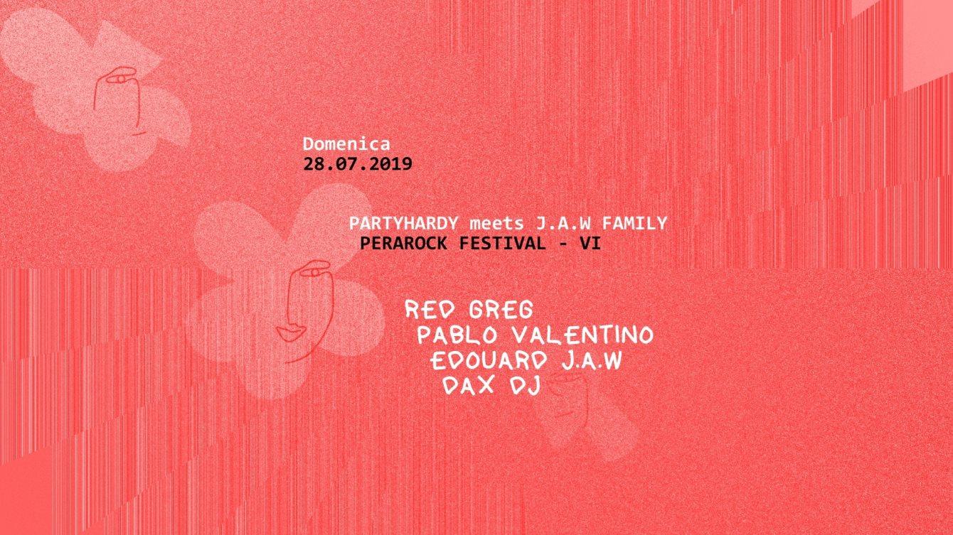 Perarock Festival 2019 - Flyer front