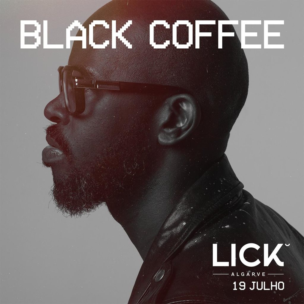 Black Coffee@Lick 2nd Anniversary - Flyer front