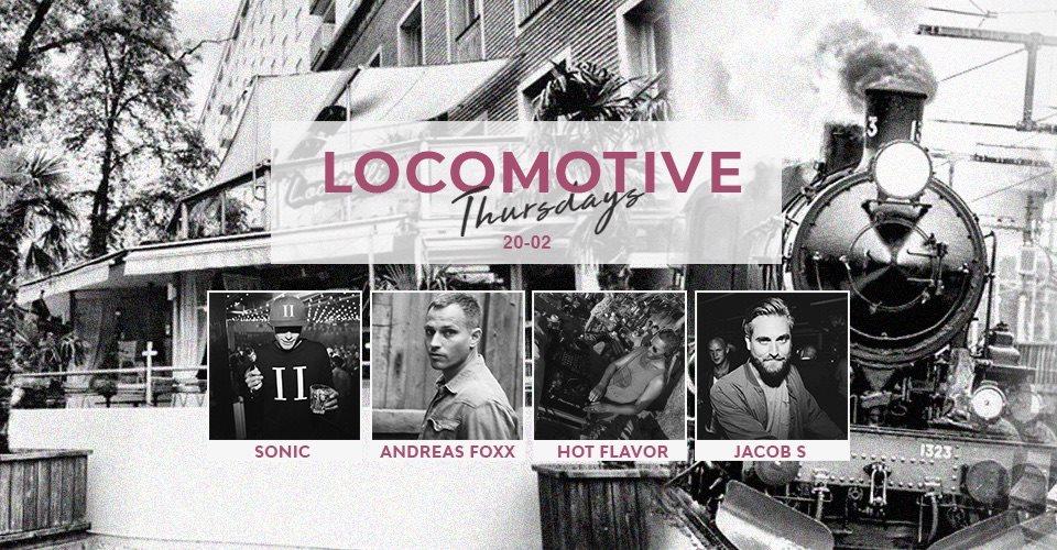 Locomotive Thursdays - Flyer front
