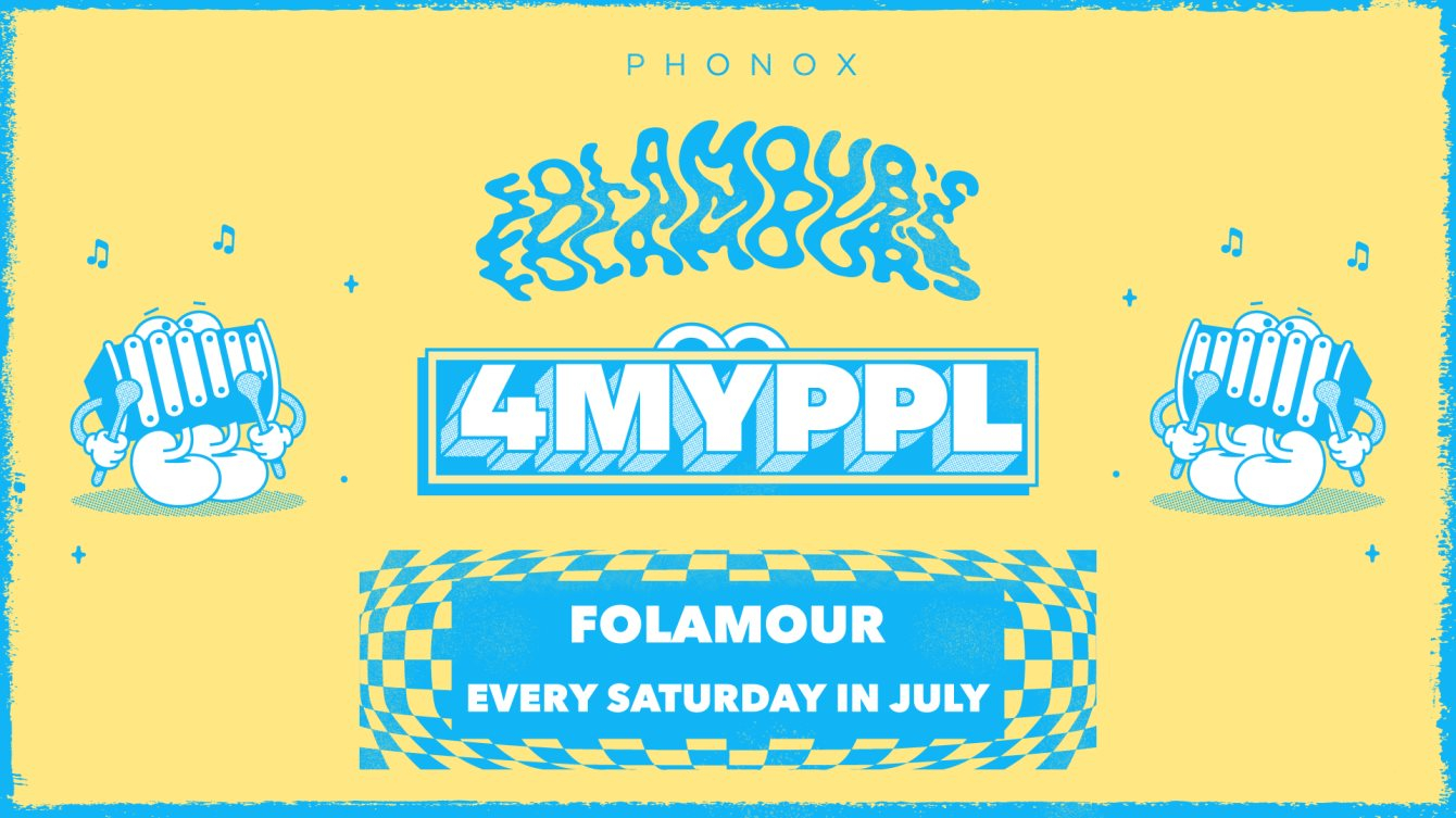 Folamour: 4 Weeks of 4MYPPL - Flyer front