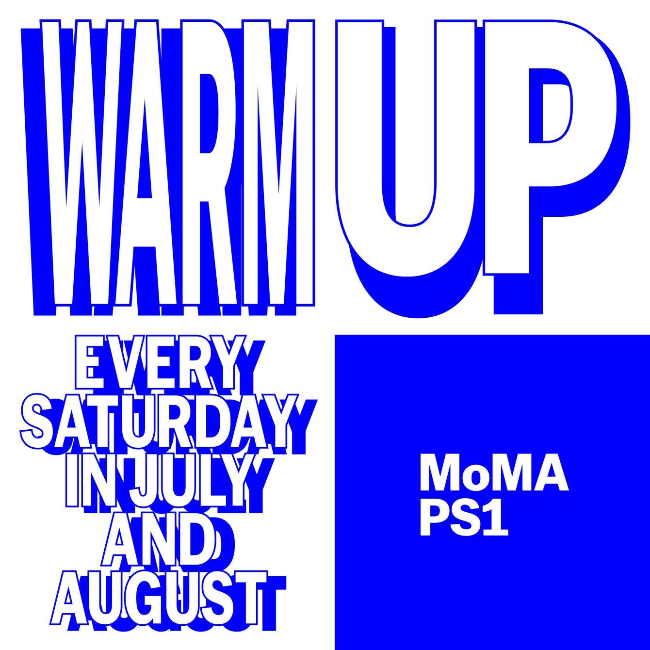 Warm Up: DJ Blass / Equiknoxx/ Mark Ernestus / Mina / BAD Gyal / Ms. Nina / Lil C - Flyer back