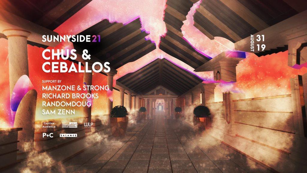 Sunnyside 21 with Chus & Ceballos - Flyer front