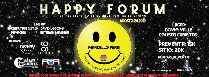 Happy Forum at Dovio Valle - Flyer back