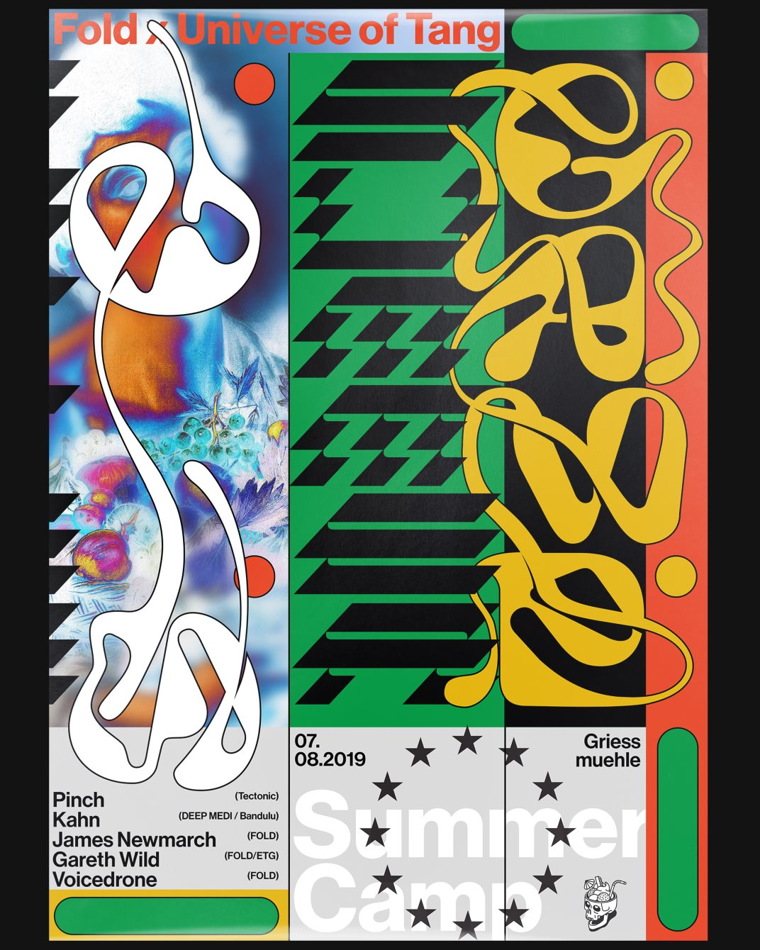 Summer Camp: FOLD x Universe of Tang - Flyer front