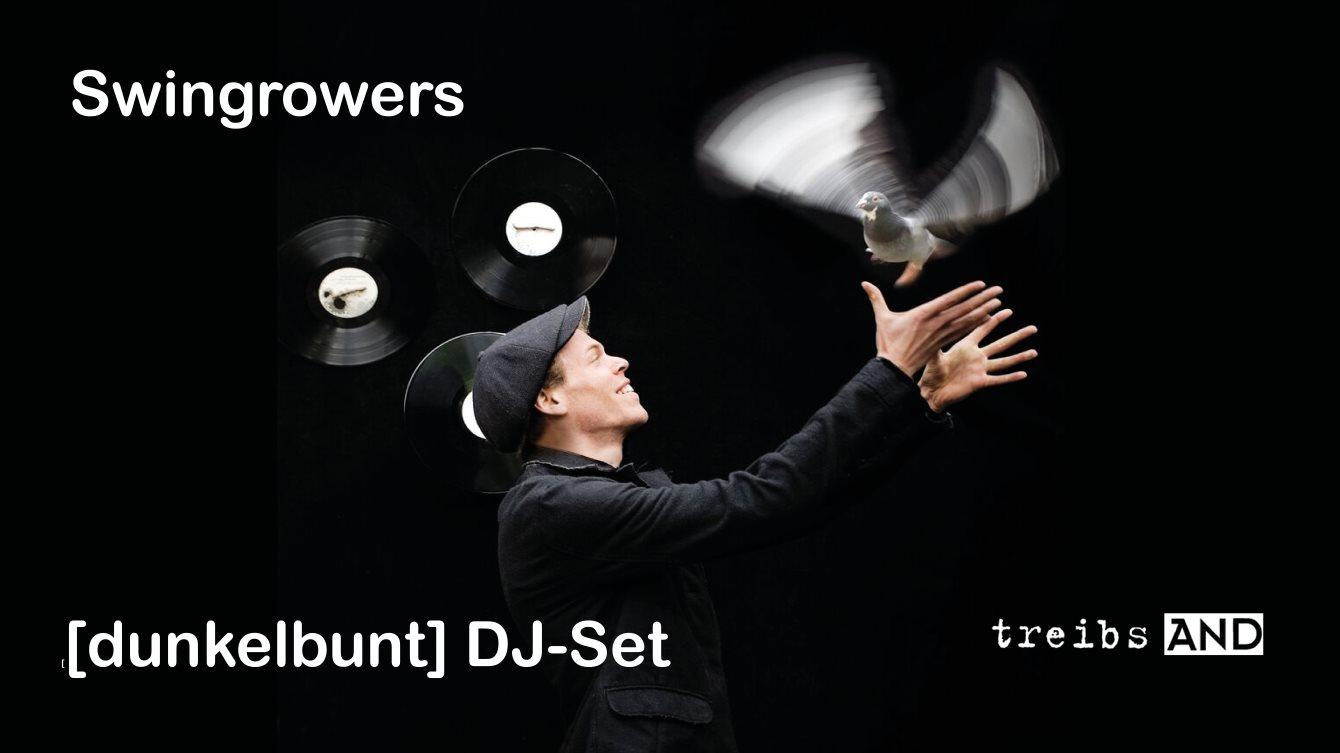 Swingrowers und [dunkelbunt] DJ Set - Flyer back