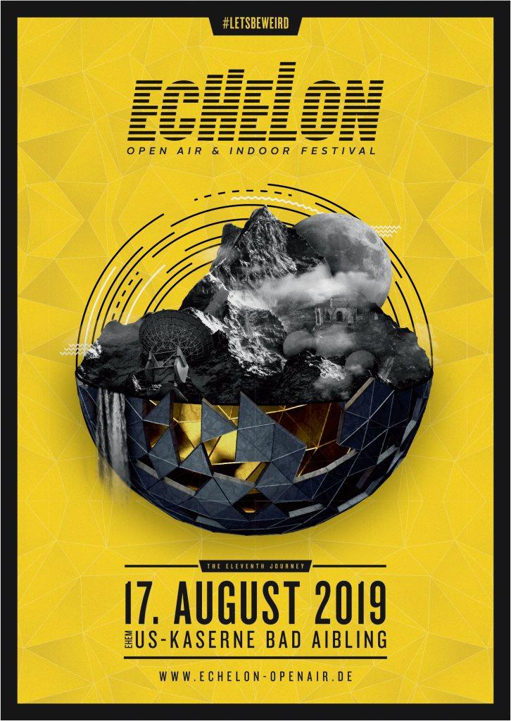 Echelon Open Air & Indoor Festival 2019 - Flyer back