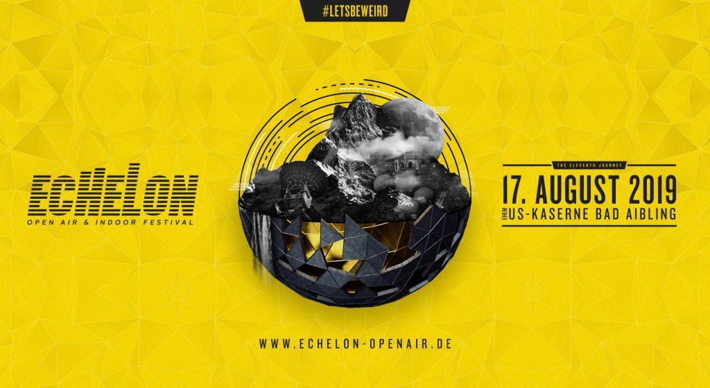 Echelon Open Air & Indoor Festival 2019 - Flyer front