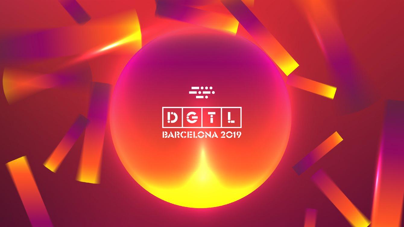 DGTL Barcelona - Flyer front