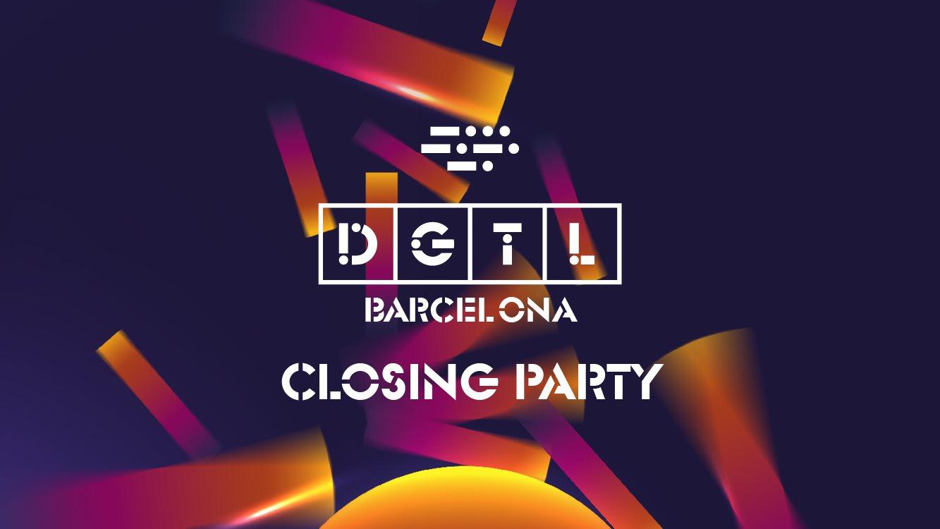 Dgtl Barcelona - Sunday Closing Party - Flyer front