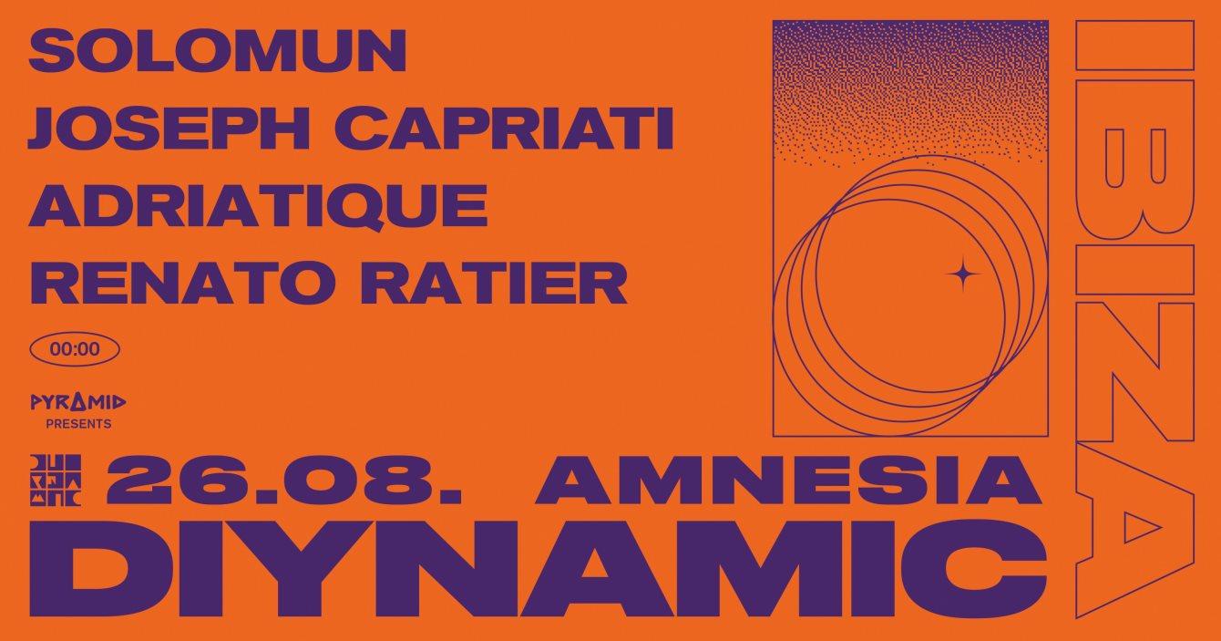 Pyramid presents Diynamic - Flyer front