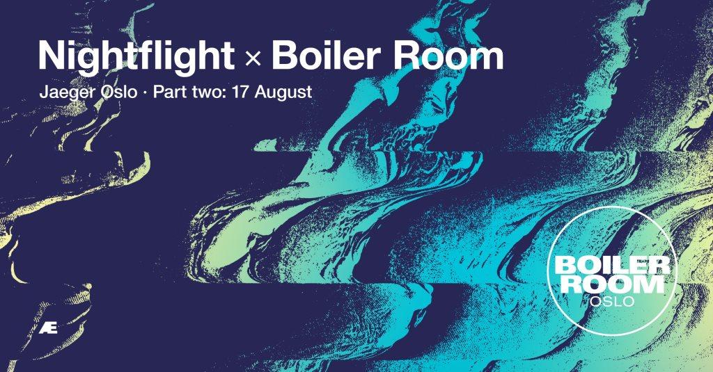 Boiler Room Weekender x Nightflight - Flyer front