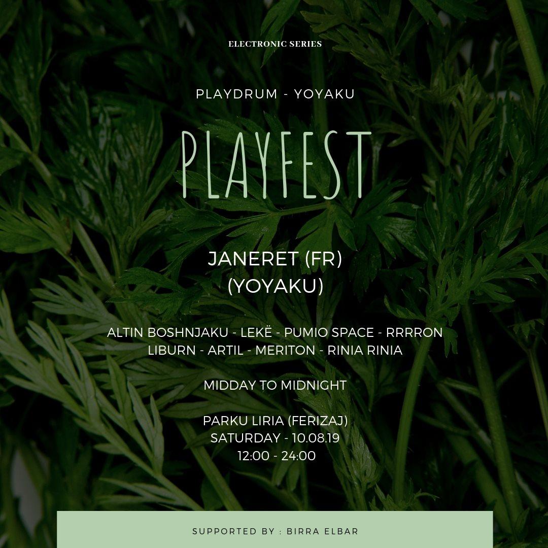 Playfest - Flyer front