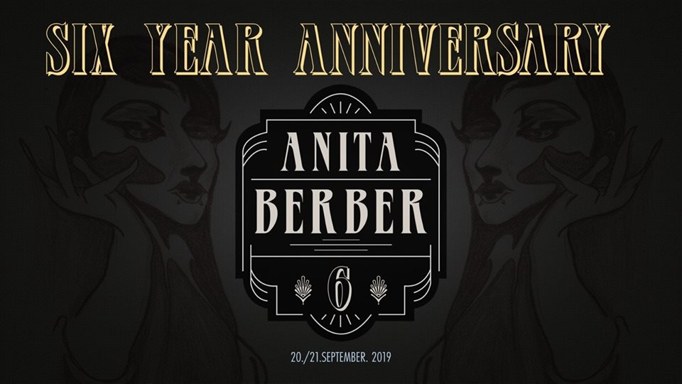 Six Year Anniversary - Flyer front