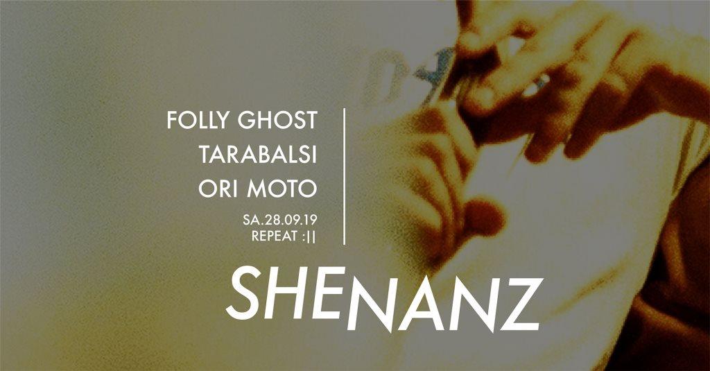Shenanz - Flyer front