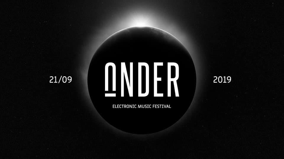 Under Festival 2019 - Flyer front