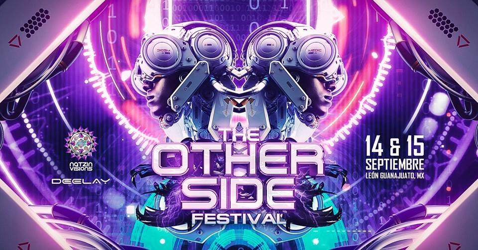 the Otherside Festival - Flyer front