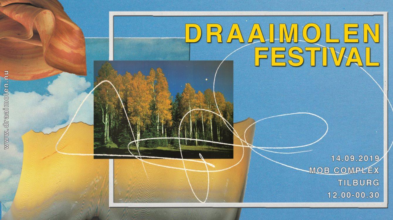 Draaimolen Festival 2019 - Flyer front