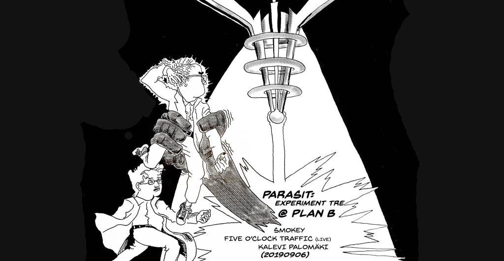 Parasit: Experiment tre - Flyer front