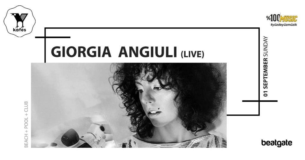 Kafes. with Giorgia Angiuli (Live) • Onur Ozman • Volkan Gunduz - Flyer back