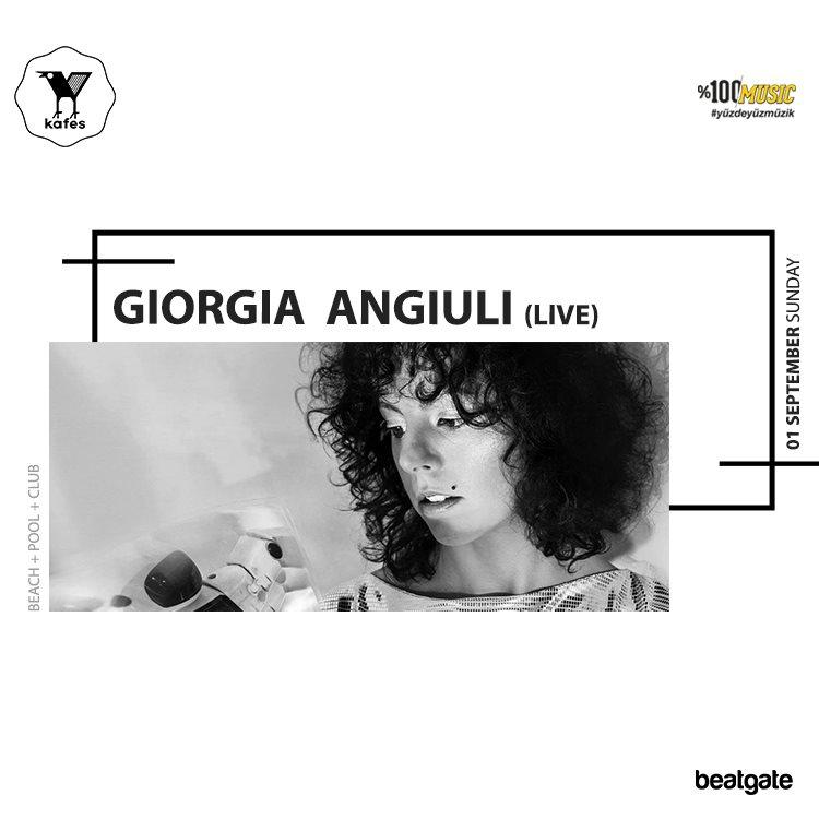 Kafes. with Giorgia Angiuli (Live) • Onur Ozman • Volkan Gunduz - Flyer front