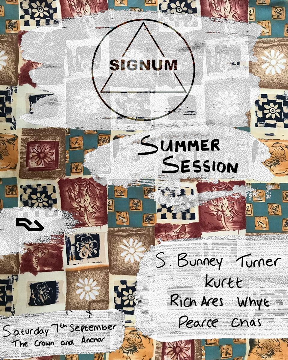Signum Summer Session - Flyer front