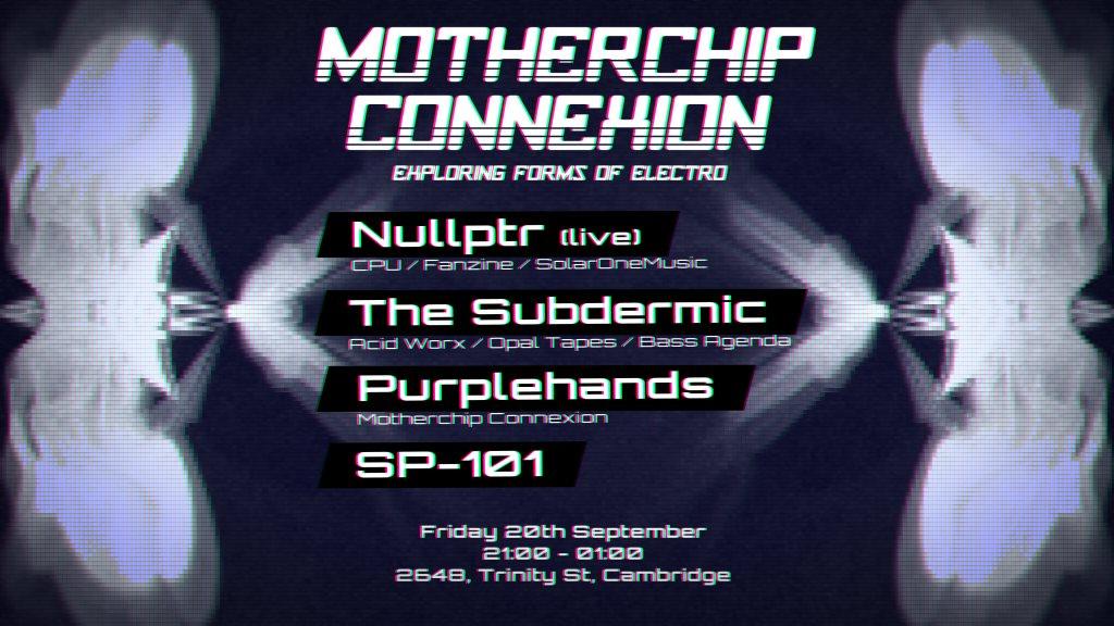 Motherchip Connexion: Alopex Launch Party - Flyer front