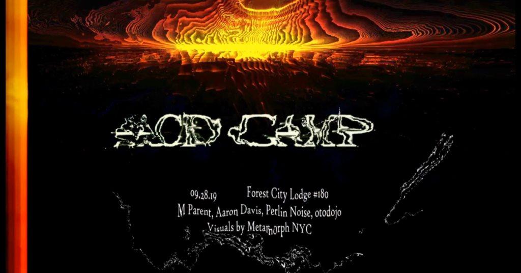 Microtones x Acid Camp - Flyer back