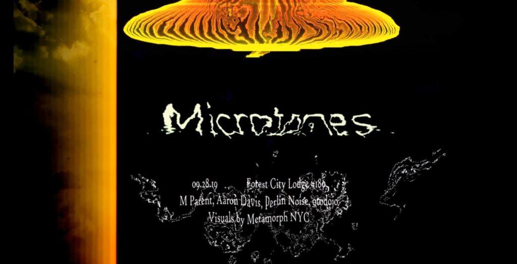Microtones x Acid Camp - Flyer front
