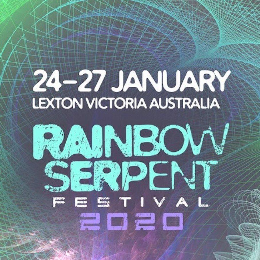 [postponed] Rainbow Serpent Festival 2020 - Flyer front