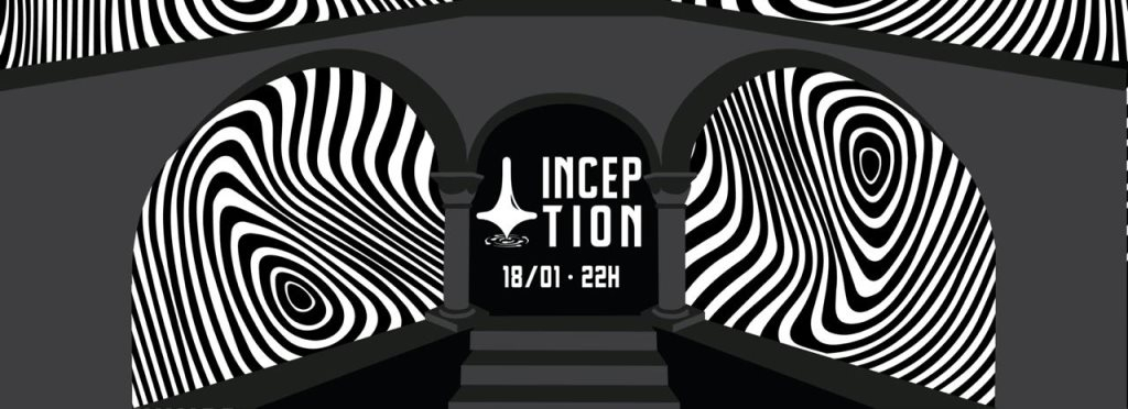 Inception // Genesis with Maz - Flyer front