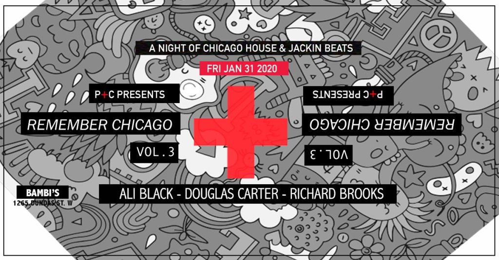 Remember Chicago 3 ~ Bambi's - Flyer front