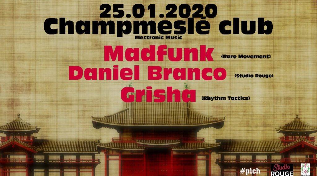 Madfunk, Daniel Branco, Grisha - Flyer front
