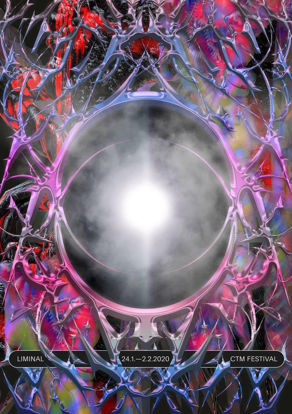 CTM Festival 2020 – Liminal - Flyer front