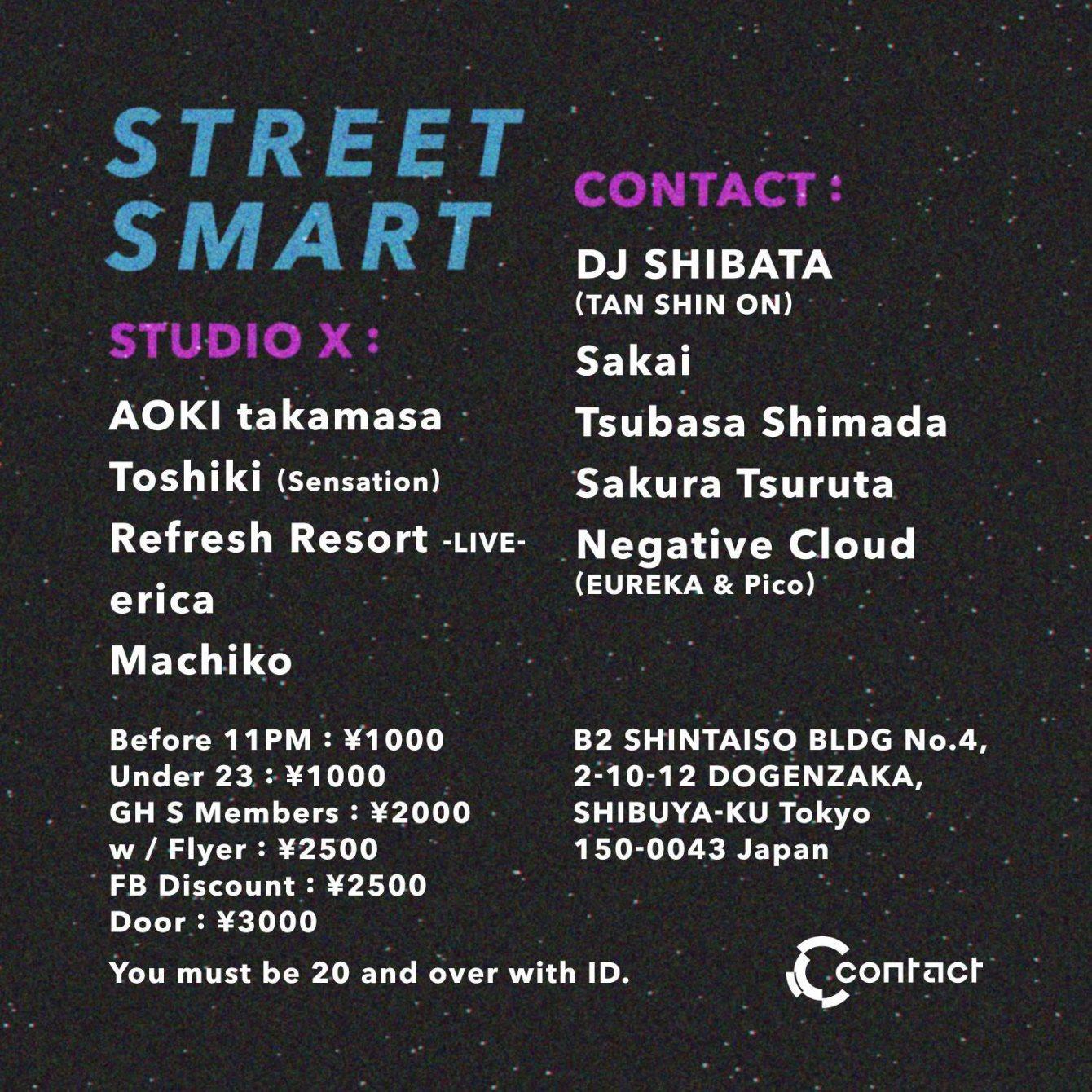 Street Smart - Flyer back