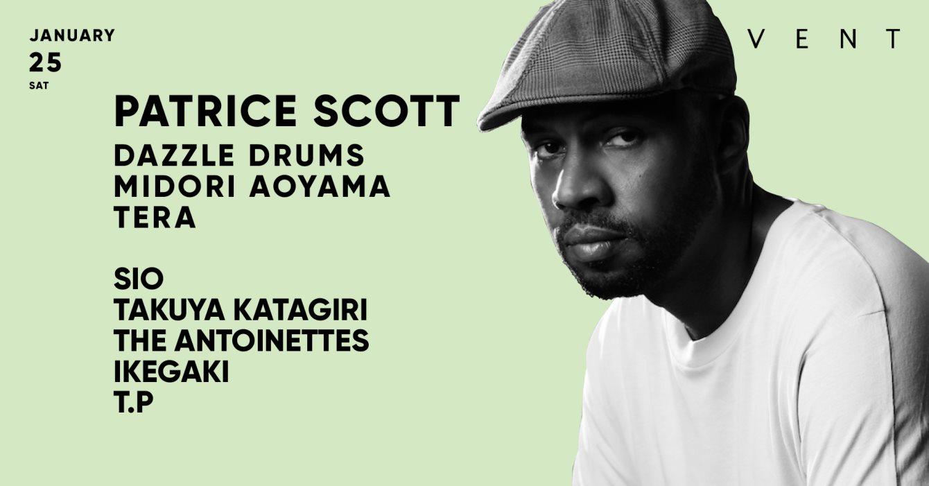 Patrice Scott - Flyer front