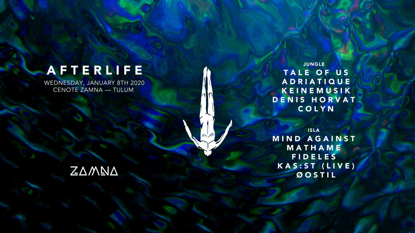 Afterlife Tulum 2020 - Flyer front