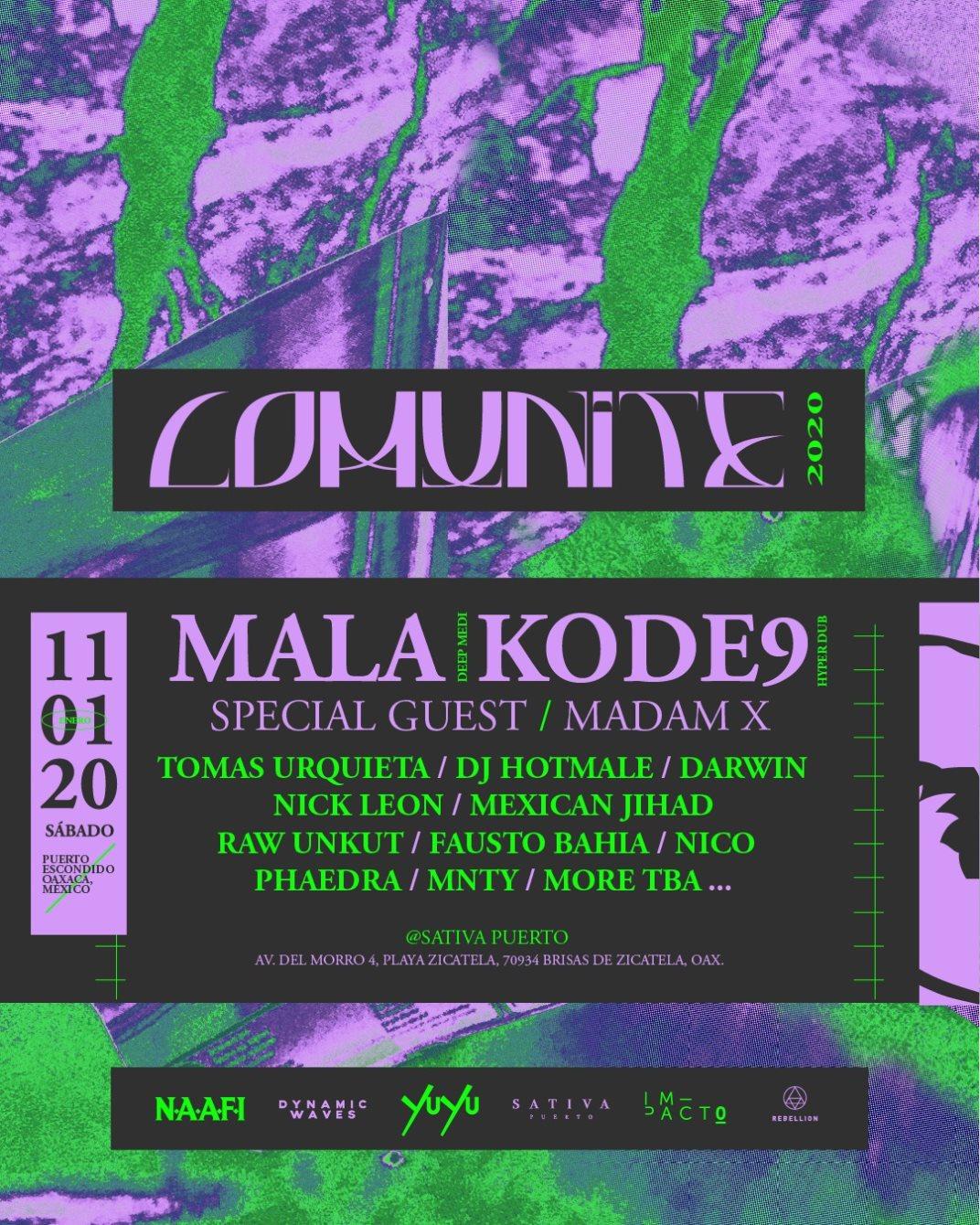 Comunite Festival 2020 - Flyer front