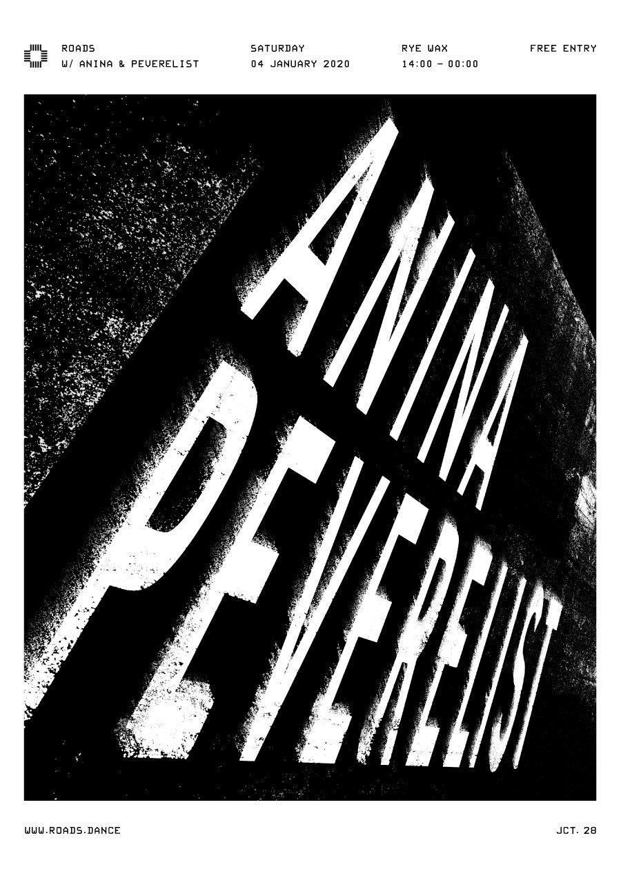 Roads 28: Anina & Peverelist - Flyer back