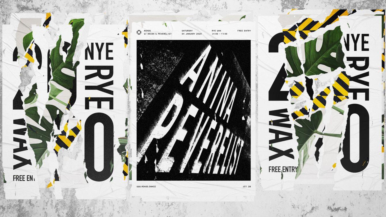 Roads 28: Anina & Peverelist - Flyer front