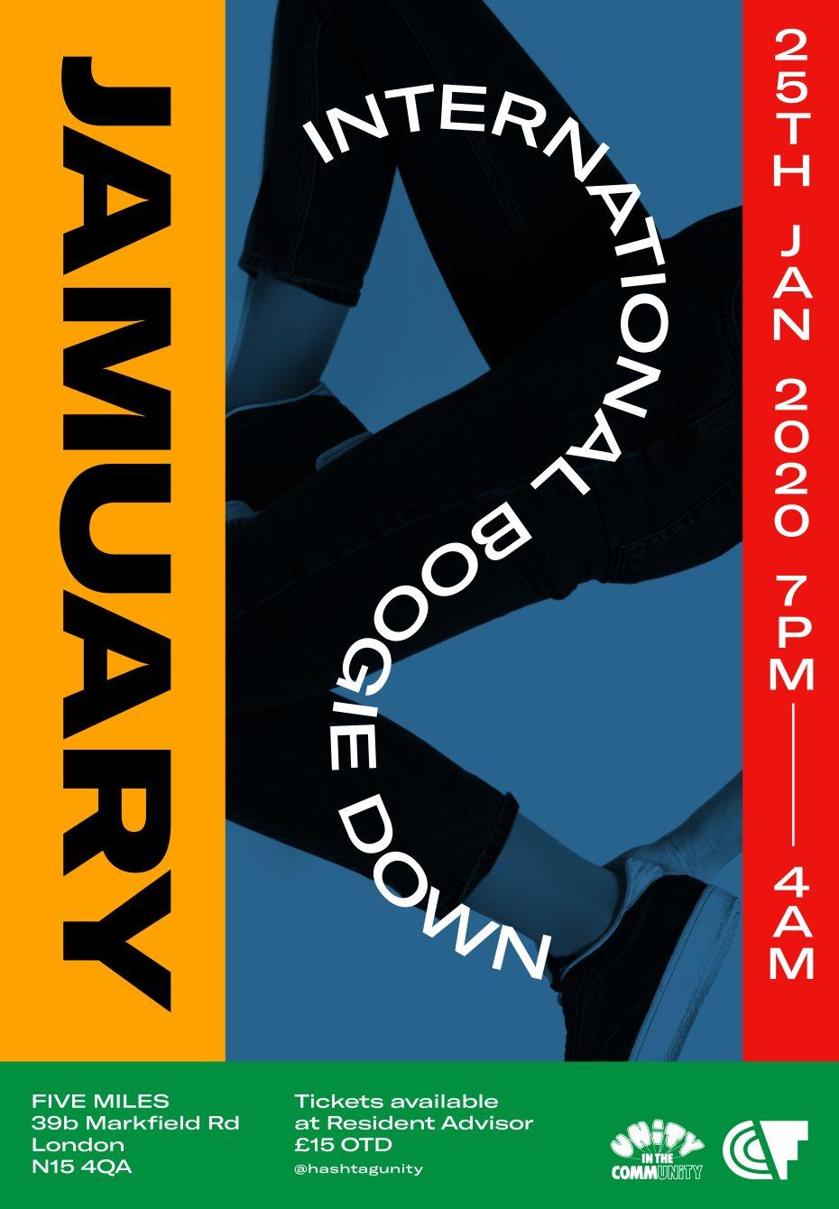 Jamuary #7 - Flyer back